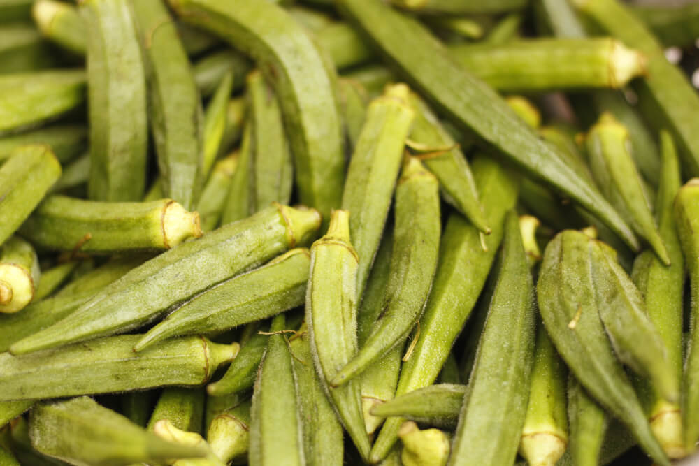 Ladyfinger use for ed at home.